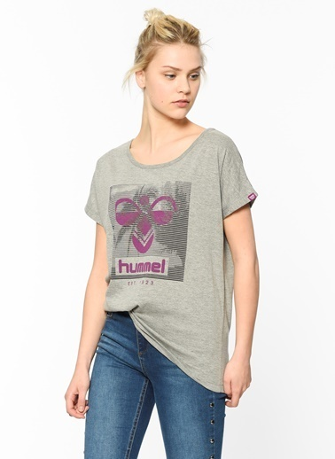 Baskılı Tişört-Hummel
